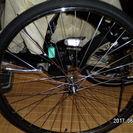 パナソニック電動アシスト用前輪ホイール新品タイヤ入れ替え済み