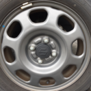 値下げ‼️ハスラー純正ガンメタ4本セット  軽タイヤアルミ