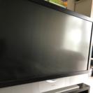 地デジ対応 52インチテレビ!! 訳あり!テレビ台あり!