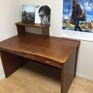 書斎机 デスク テーブル 幅120センチ