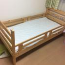 中古 『 シングルベッド木製フレーム 』