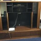大きなテレビボード