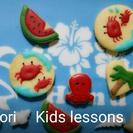 富士見市 みずほ台 子供のための夏のお絵かきアイシングクッキー