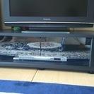 黒いTV台
