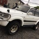 【80ランクル VXリミテッド】 4WD 5速MT 3インチリフトアップ