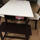 伸張式テーブル 椅子付き