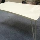 引取限定特価☆鏡面スクエアテーブル 座卓 ローテーブル