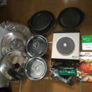 値下げ ムスイウェア MDTクッキングヒーター 鍋セット