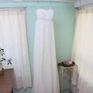 ウェディングドレス/カラードレス/エンパイア/ホワイト/ボレロ付き
