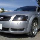 アウディTTクーペ1.8T/クワトロ 4WD 6速マニュアル左ハンドル シルバー 2002年式 の画像