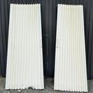 未使用品 タチカワのアコーディオンカーテン 両開き ホワイト
