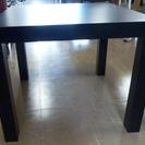 IKEA サイドテーブル LACK ブラック・ダークブラウン