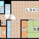 板宿駅前2LDK☆仲介手数料ゼロ円キャンペーン♪