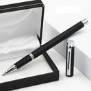 ビジネス金属ボールペン7本 黒 (替芯70本付き)