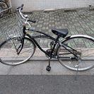 かわいい27インチ自転車です