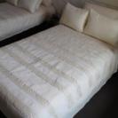 展示品 日本ベッド  シングル ベッド本体&マットレス ボンネルコ...