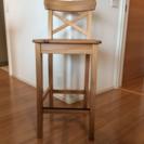 IKEA カウンターチェア 2脚(INGOLF 63㎝)