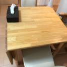 ニトリ ダイニングセット 伸縮式テーブル