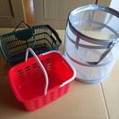 洗濯カゴ 1個200~400円