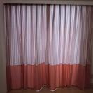 カーテン ピンク柄 子供部屋、女子のお部屋に☆