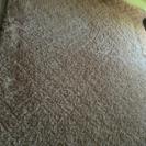 230×230 毛足の長いウレタン入りラグ