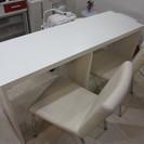 長テーブルと椅子のセット