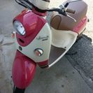 VINO DX(4スト) ピンク色 50cc原付バイク キレイです...