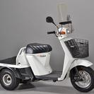 モト☆バリュー【赤山】 ジャイロUP 2スト 幅広い用途の三輪車