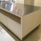【取りに来てくださる方限定】デザイナーズ・大型キャビネットテーブル