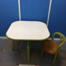 ☆昭和レトロ フランスベッド  ダイニングテーブル、チェア☆
