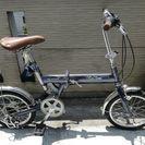 一旦停止   16インチ  折り畳み自転車  ユーズド品