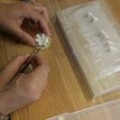 江戸つまみ細工 銀座教室 1Day Lesson 『睡蓮のクリップピン』  - 中央区