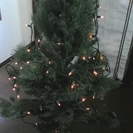 クリスマスツリー 電飾付き