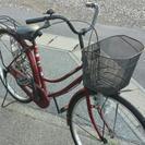 ♥値下げしました\ 自転車《茶色》《エンジ》   ママチャリ   ...