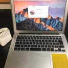美品! MacBook Air 13 2016モデル保証あり