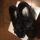 黒靴21センチ