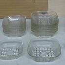 値下げ!ガラス小皿 4種 21枚