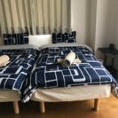 ニトリ シングルベッド リネン付き