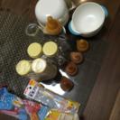 ピジョン 哺乳瓶(直付け式) 、離乳食用調理セットなど