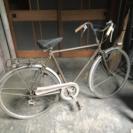 昔の自転車 タテイシ