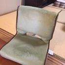 超美品 折り畳み式座椅子 3客セット