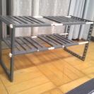 組立式キッチン下収納棚