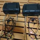 7インチヘッドレストモニター2機