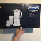 【新古品】delonghi power blender 3way