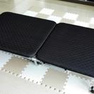 アイリスオーヤマ 折りたたみベッド ブラック OTB-E