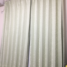 カーテンセット(高さ200幅200の窓の2枠分)