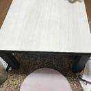 【無料】1年中利用可の小さめコタツテーブル