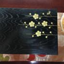 木箱/漆塗り