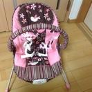 フィッシャープライス バウンサー ピンク 花柄 (R969)