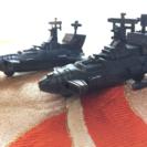 銅の鉛筆削り/戦艦2セット(バラ売り可能)